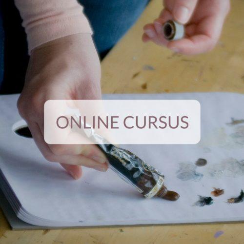 online cursus kleuren mengen